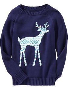 Girls Chunky Crew Neck Sweaters Old Navy Fashion Pinterest