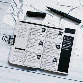 × Bullet Journal × Zufällige Hobbys und Interessen × - #Bullet #Hobbys #Interessen #Journal #minimaliste #und #Zufällige #interessen