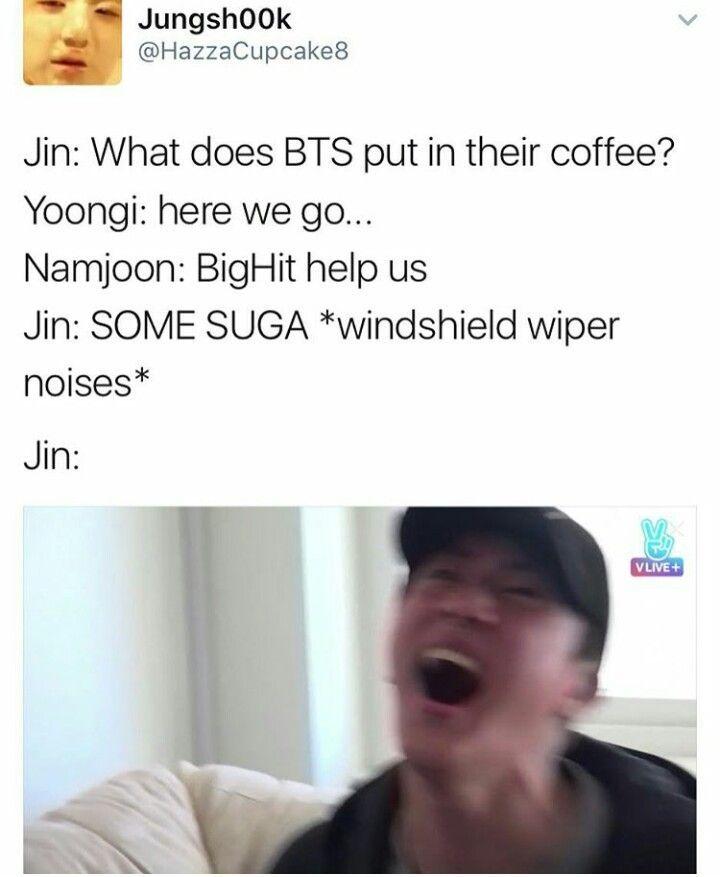 8b82caaeeefebbce55ff5827f92ce7d3 bts jin memes gotta love jins dad jokes bts 방탄 pinterest
