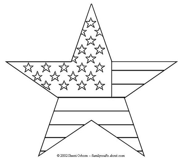 American Flag Printable Coloring Page Elegant Flag Usa In Heart