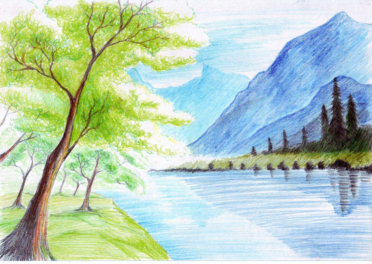 View source image | Colour pencil drawings | Pinterest | View source ...