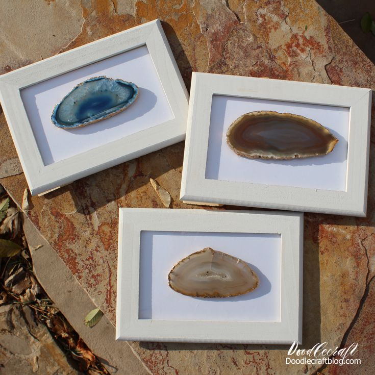 Framed Agate Slices Frame Agate Picture Frames