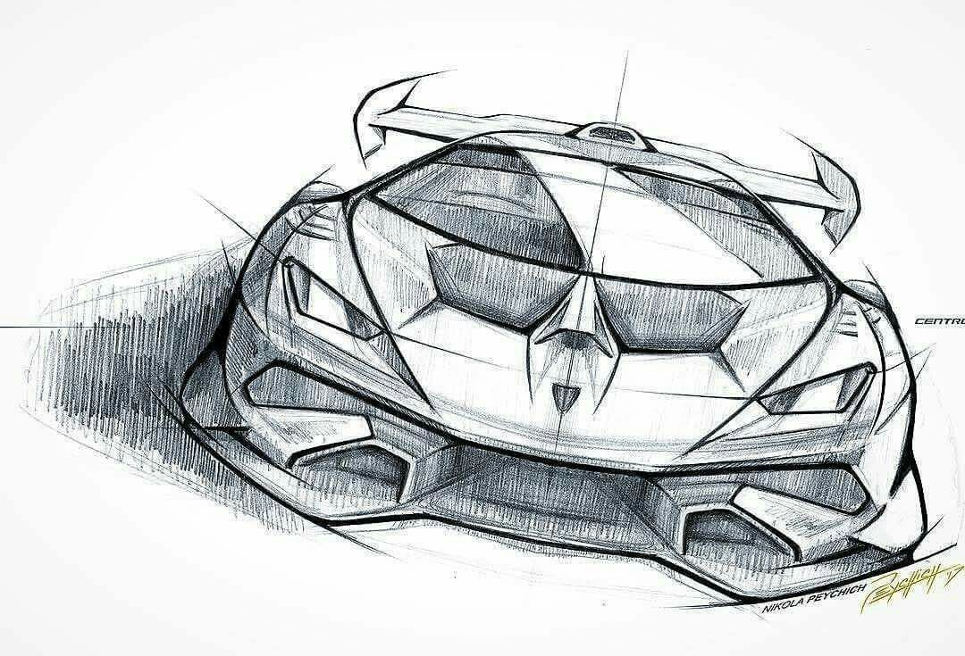 Voiture Car Design Sketch Car Design Concept Car Sketch