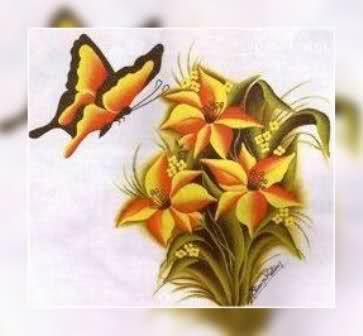 Pin patrones de flores para pintar sobre tela tattoo - Patrones para pintar en tela ...