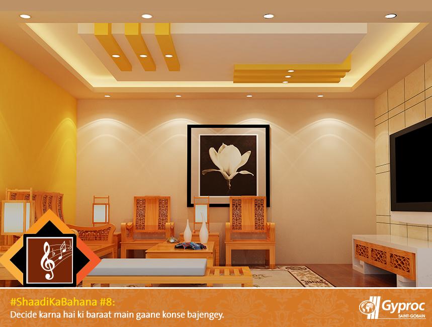 Phenomenal Pin By Gyproc India On Shaadi Ka Bahana In 2019 Bedroom Interior Design Ideas Inesswwsoteloinfo