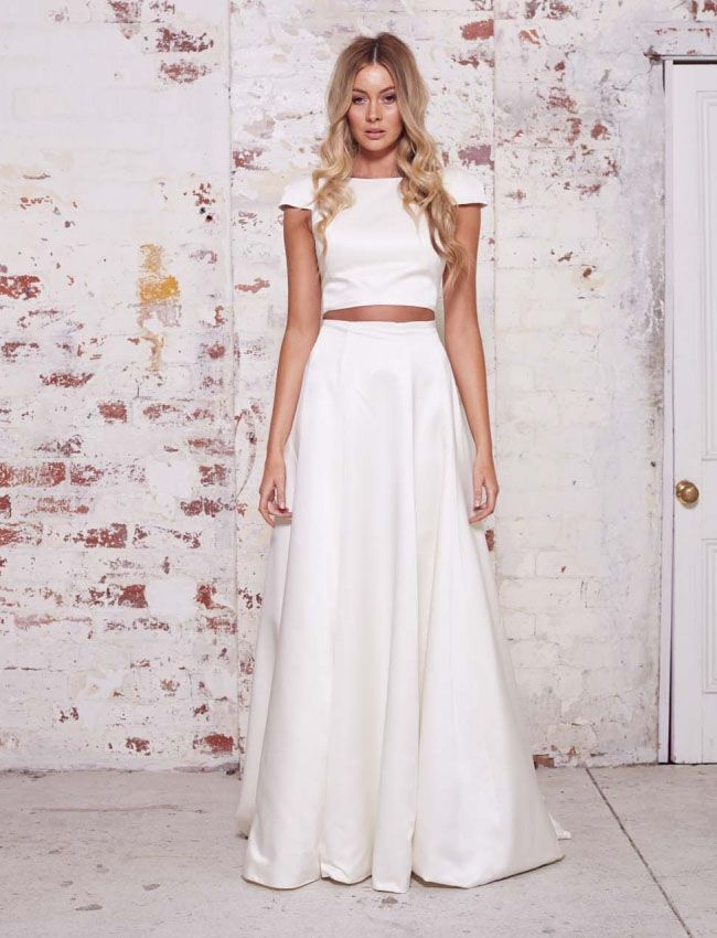 a1e92ecc229c9c Two piece dress from Karen Willis Holmes  Wild Heart Collection