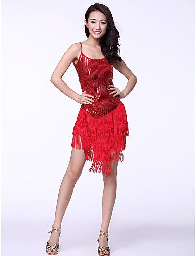 57fc80d7d4 ... Lady Women s Latin Dance Costume Dancing Clothing Performance Wear  Modern 091212. salsa dress