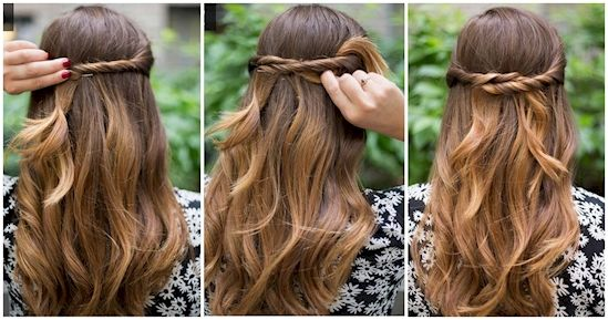 20 Super Simple Hairstyles For The Lazy Girl In All Of Us | Hair ...