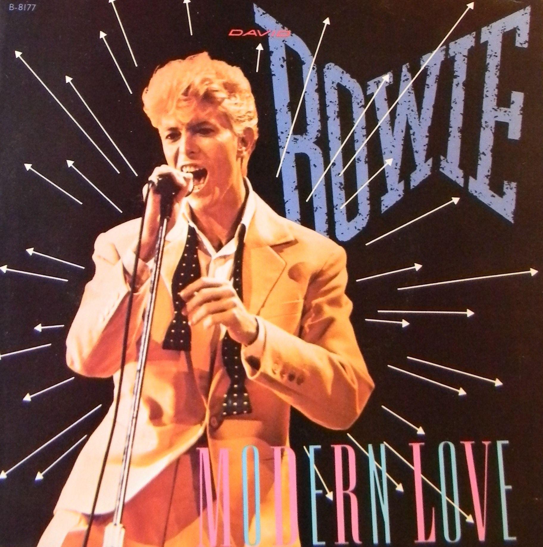 David Bowie Modern Love Picture Side 1 Modern Love Side 2 Modern Love Live 7 Single 45 Rpm Emi Records 1983 B David Bowie Bowie Discos De Vinilo