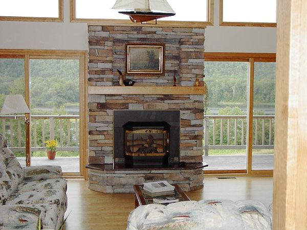 Stone fireplace designs and Fireplace design