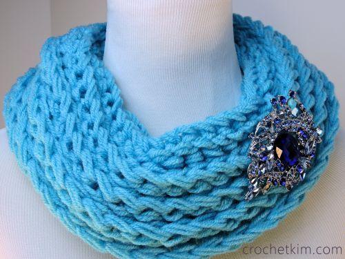 Ridgie Cowl ~ free pattern ᛡ   Hobbies   Pinterest   Schals ...