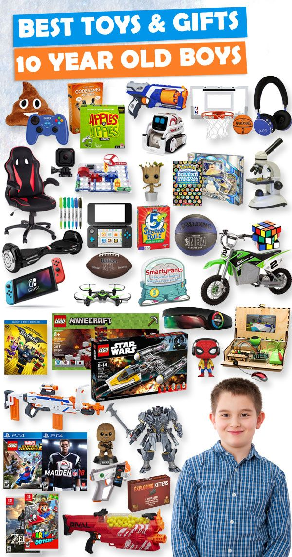 Gifts For 10 Year Old Boys 2020 – List of Best Toys | 10 year old