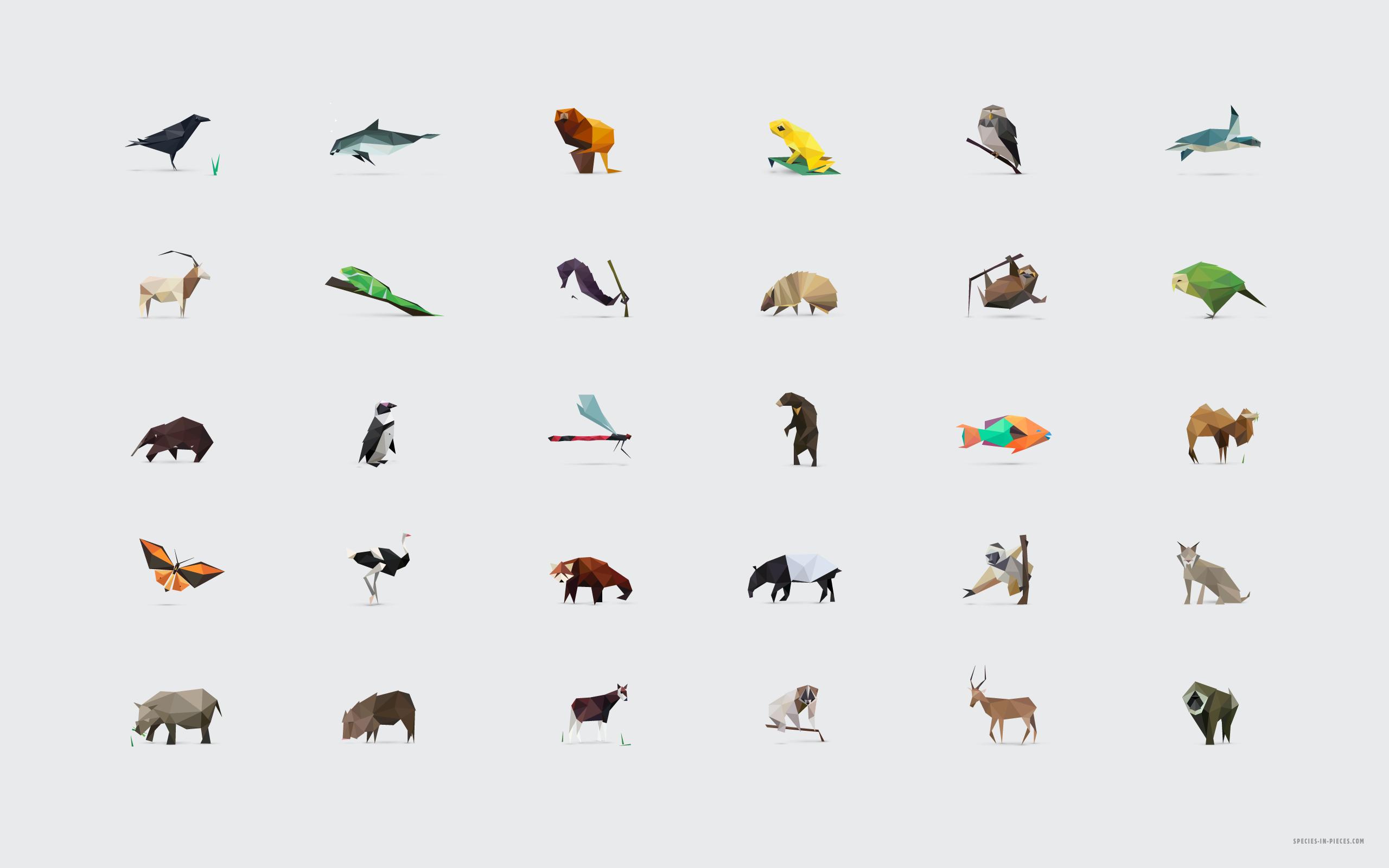 Geometric Animal Wallpaper 74 Images: Drawing Animal Geometric Shapes
