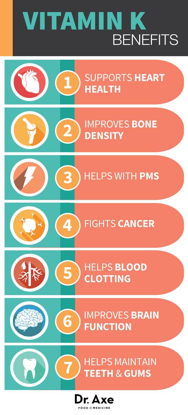 Vitamin K Deficiency, Foods & Health Benefits   Vitamins
