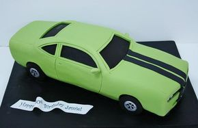 Car Cakes & Tutorials - Cake Geek Magazine