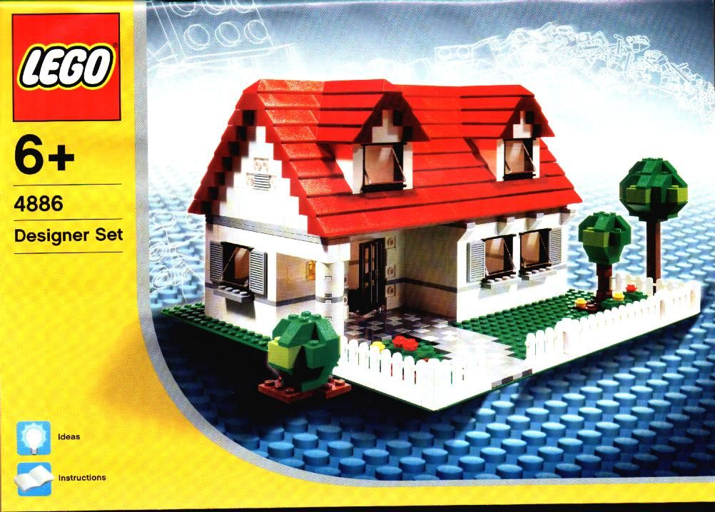 free pattern for lots of house design ideas Lego Pinterest