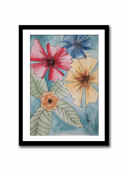 Flowers - Limited Edition Prints - ÇERÇEVELİ
