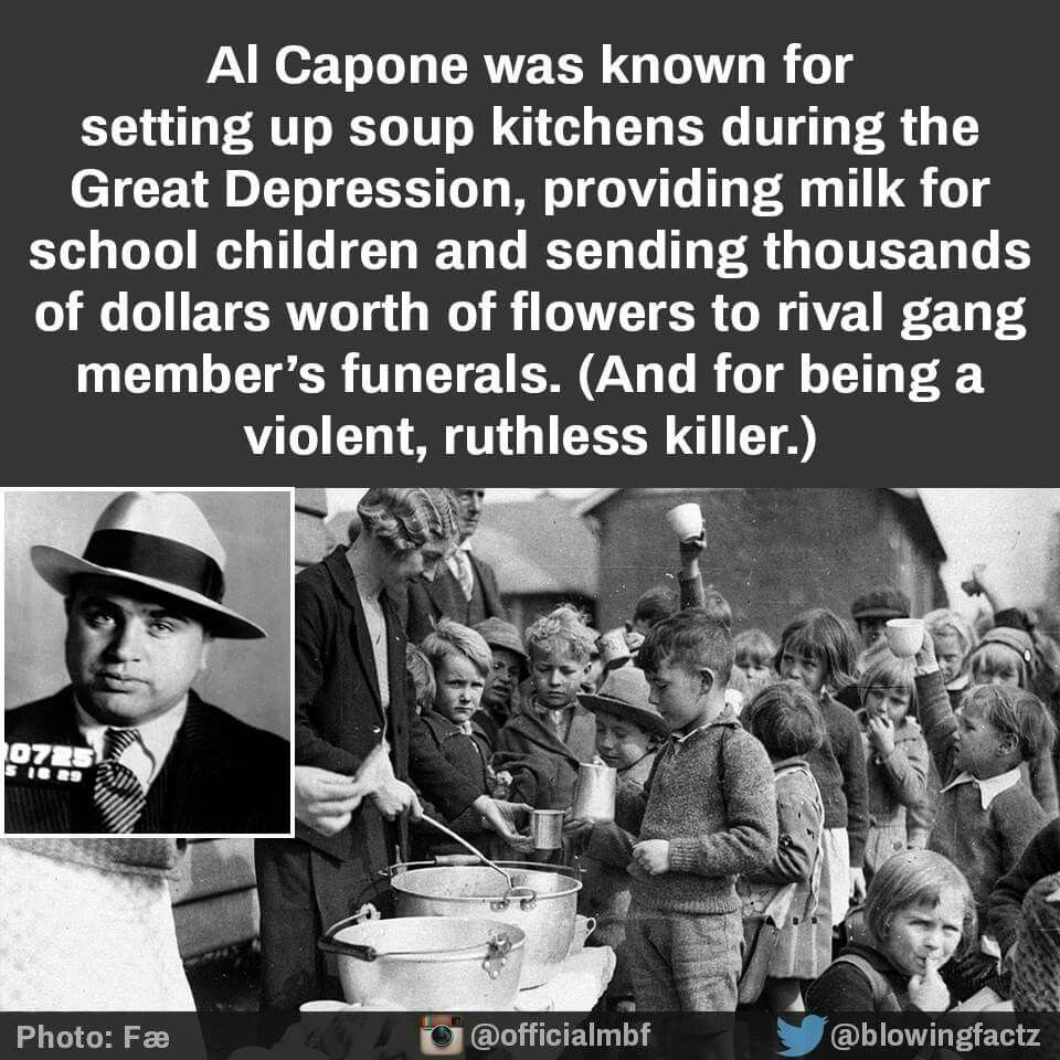 Al Capone had a heart Al capone, Fun facts, Kids school