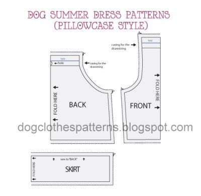 dog dress patterns preview | Pet clothes | Pinterest | Dog dresses ...