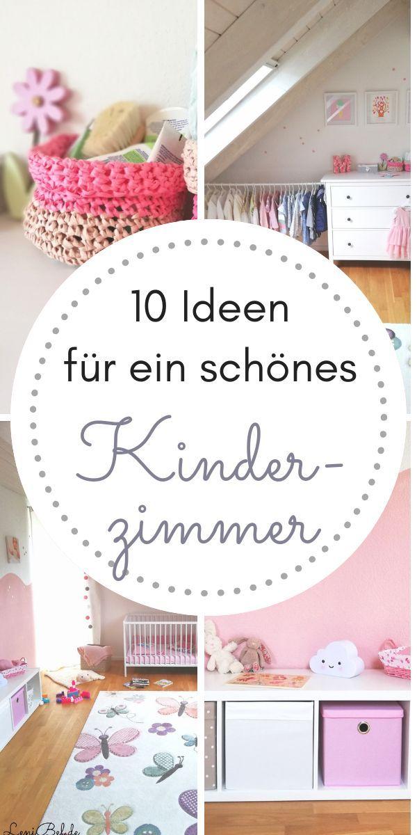 Kinderzimmer einrichten - 10 Tipps und Ideen für die Gestaltung