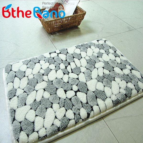 Cool Bathroom Carpets new pattern coral bath mat rug pebble bathroom mat carpet