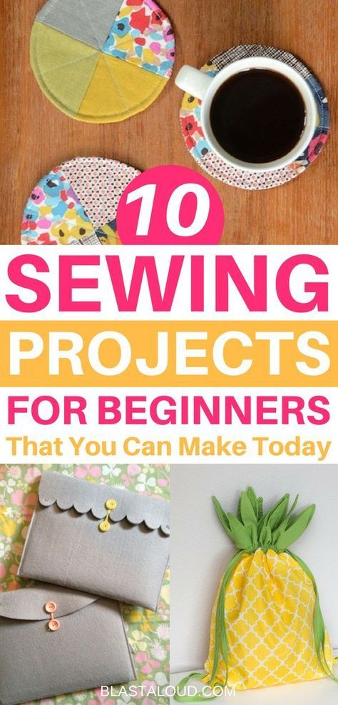 10 Easy Beginner Sewing Projects That You Can Make And Sell Today #beginnersewingprojects