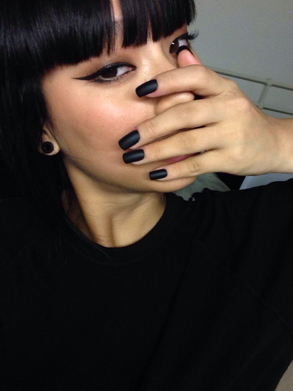 Tumblr   アジア女性のアイメイク, 美髪, 美容