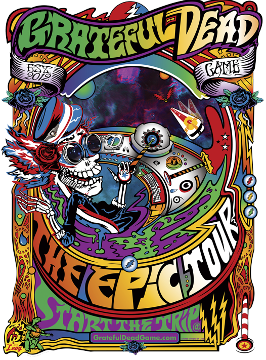 Grateful Dead Game Epic Tour Anazhthsh Google Grateful Dead Poster Rock Poster Art Grateful Dead Shows