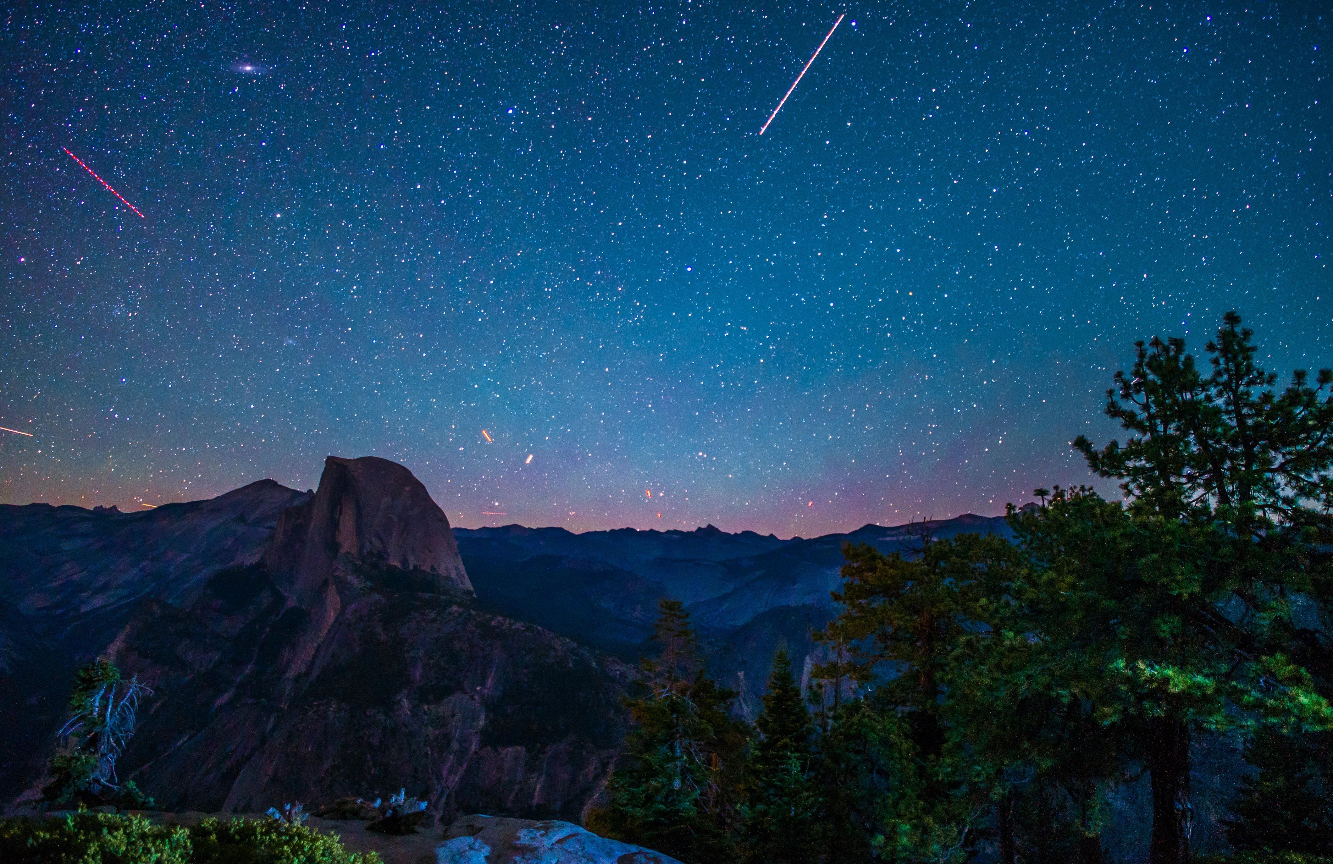 Yosemite At Night Oc 4240 2749 Reddit Long Exposure Photography Night Sky Photography Landscape Photography