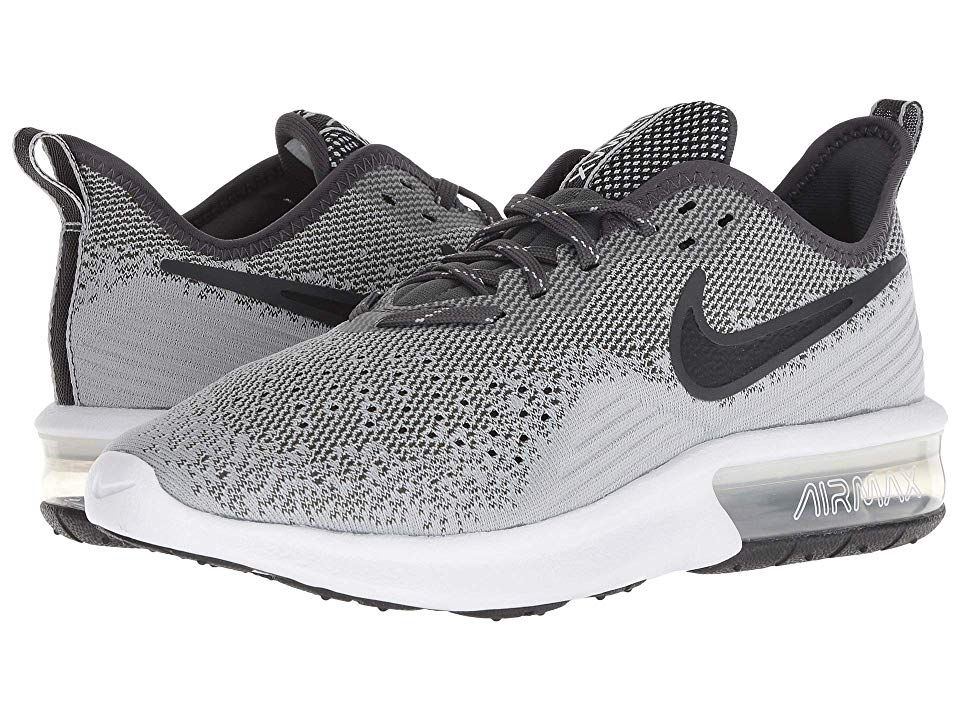 Nike Air Max Sequent 4 Women's Running Shoes Wolf Grey