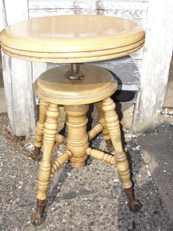 Antique Piano Stool 1800s Piano Stool Stool Antiques