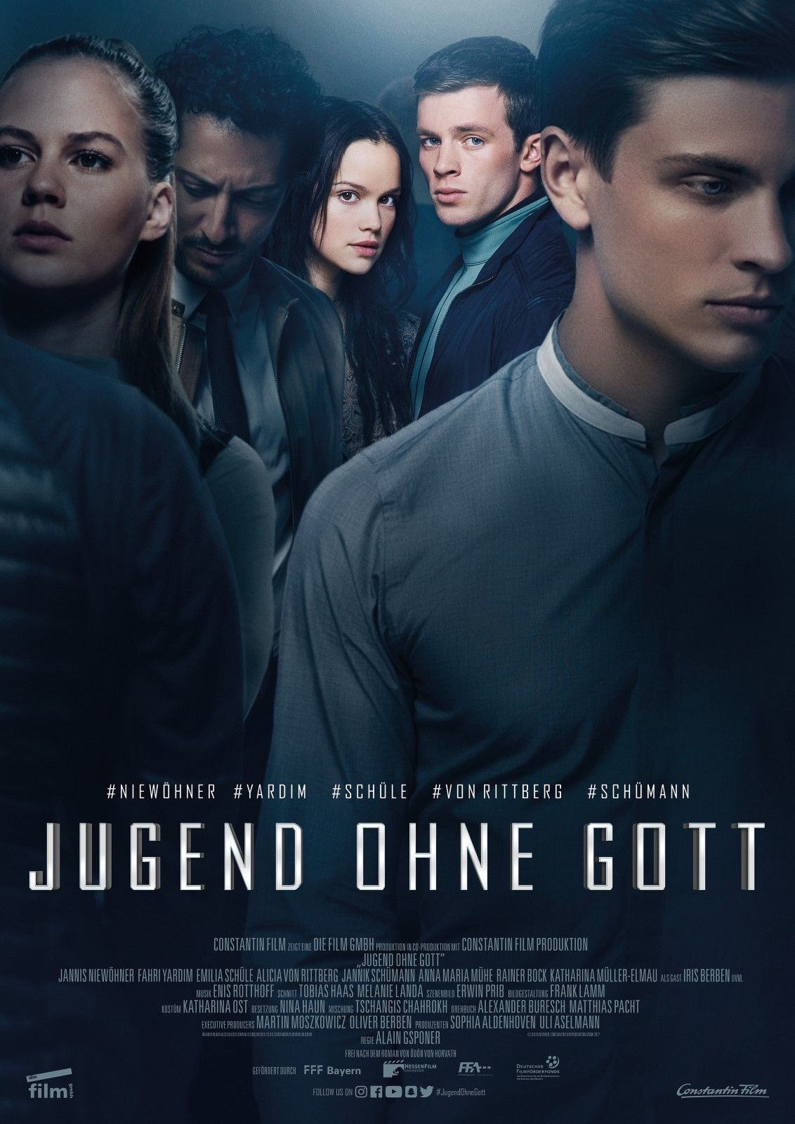 Jugend Ohne Gott Alain Gsponer 2017 Jugendfilm Filme Jugendliche