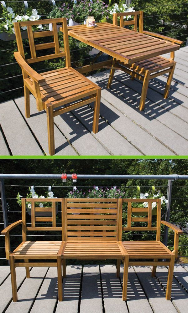 Groovy Mybalconia Bl055 Wooden Convertible Bench Balcony Bench Pabps2019 Chair Design Images Pabps2019Com