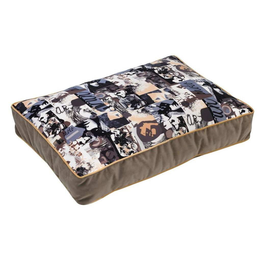 Bowsers SuperLoft Rectangle Dog Bed Vogue Rectangular