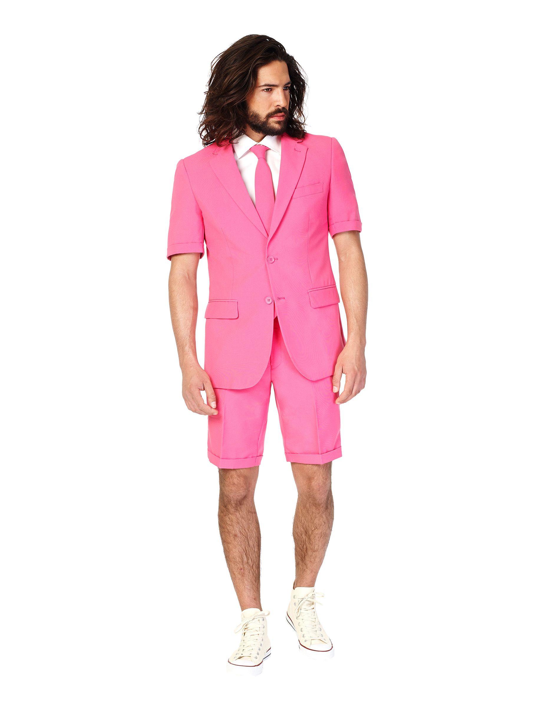 Traje de verano Mr Pink hombre Opposuits™ | Trajes de verano ...