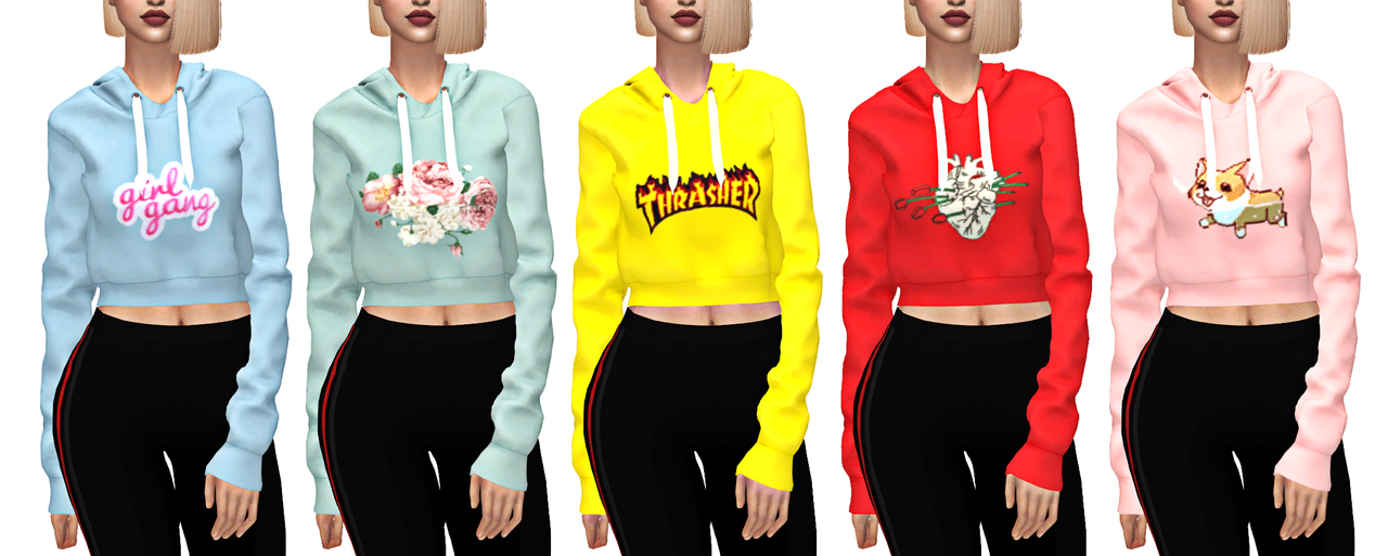 Ts4 Adidas Hq • Top Hoodie Category Crop Swatches Elliesimple 22 uXikOZP