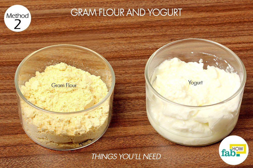 gram flour and yogurt paste to remove suntan things need | Sun tan, Tan  removal, Sun tan removal