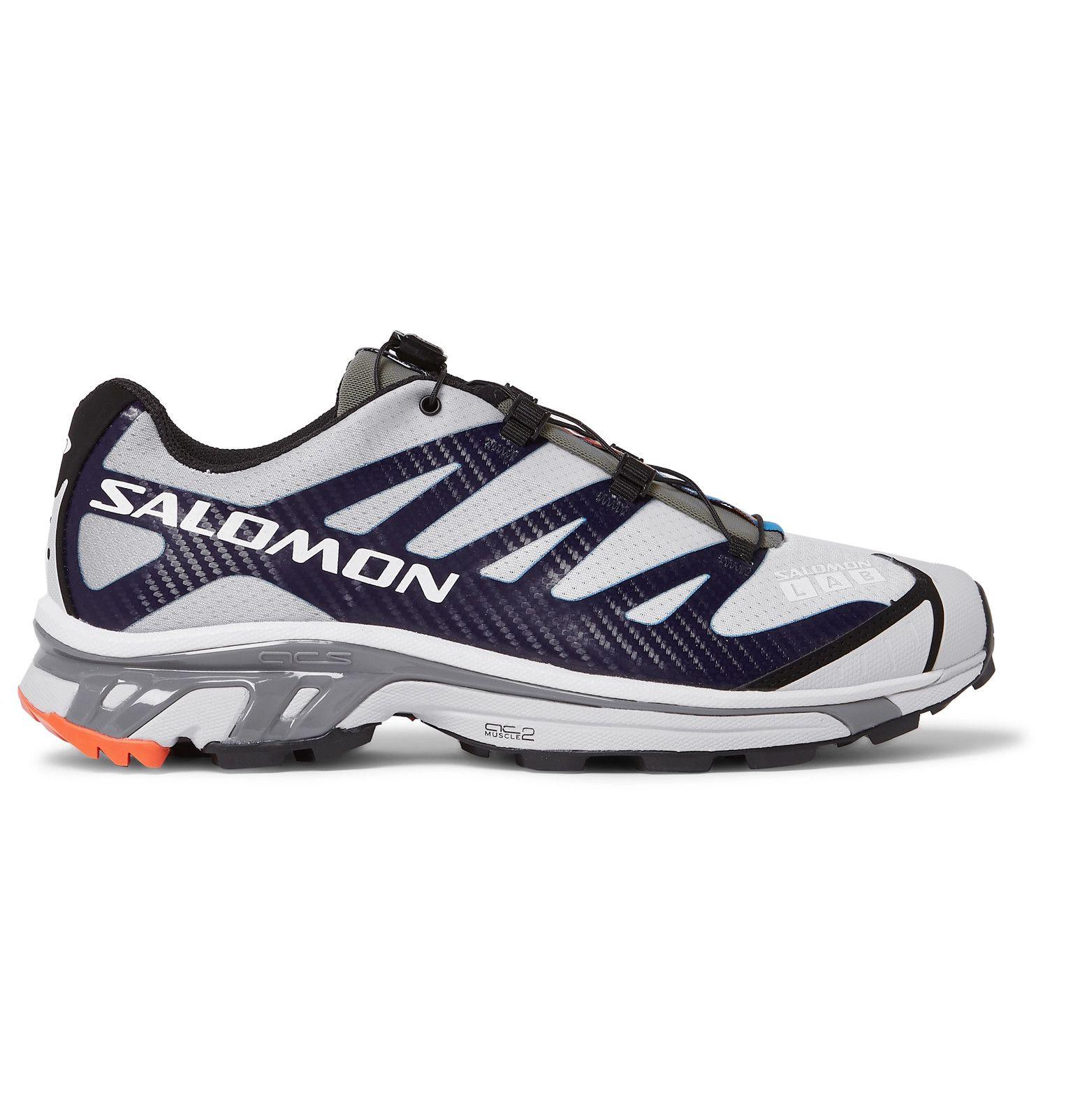 Salomon S Lab Xt 4 Adv Running Sneakers Men Gray Salomon Shoes Mens Sneakers Salomon Shoes