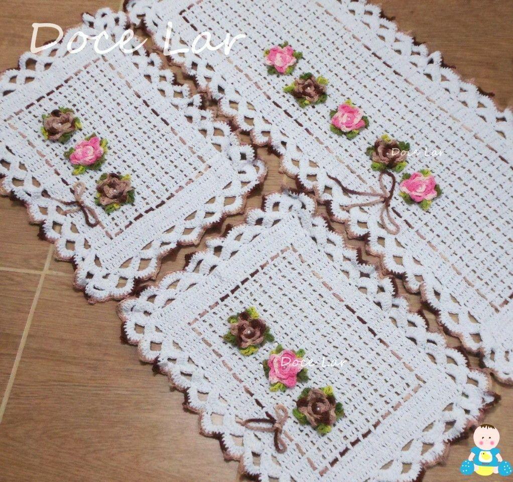Jogo de tapetes para cozinha floral tapete para cozinha for Tapete floral