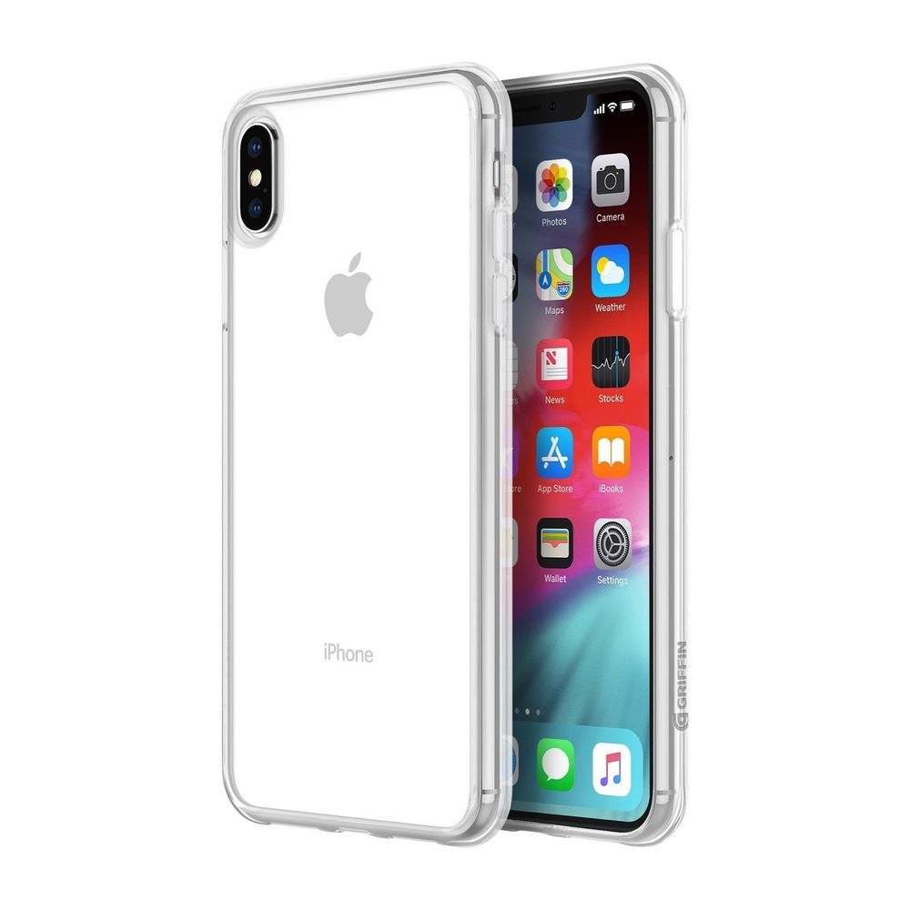Griffin Reveal Case Apple Iphone Xs Max Schutzhulle Transparent Qi Fahig Dunn Apple Iphone Iphone Schutzhulle