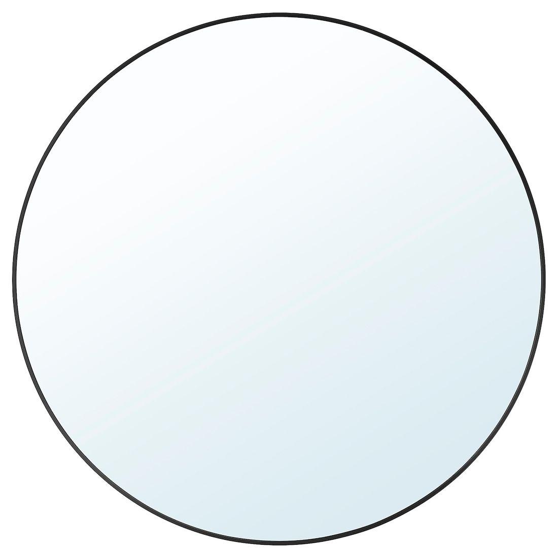 Lindbyn Mirror Black Ikea 31 5 Round For 50 Black Round Mirror Round Mirror Bathroom Ikea Mirror [ 1100 x 1100 Pixel ]