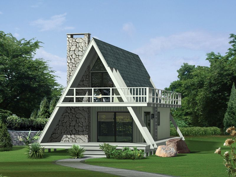 Grantview A Frame Home Cottage Style House Plans A Frame Cabin Plans A Frame House