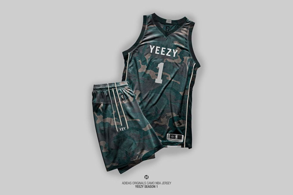 Nba Jerseys Reimagined In The Aesthetic Of Yeezy Season 1 Jersey Fashion Nba Outfit Jersey Design