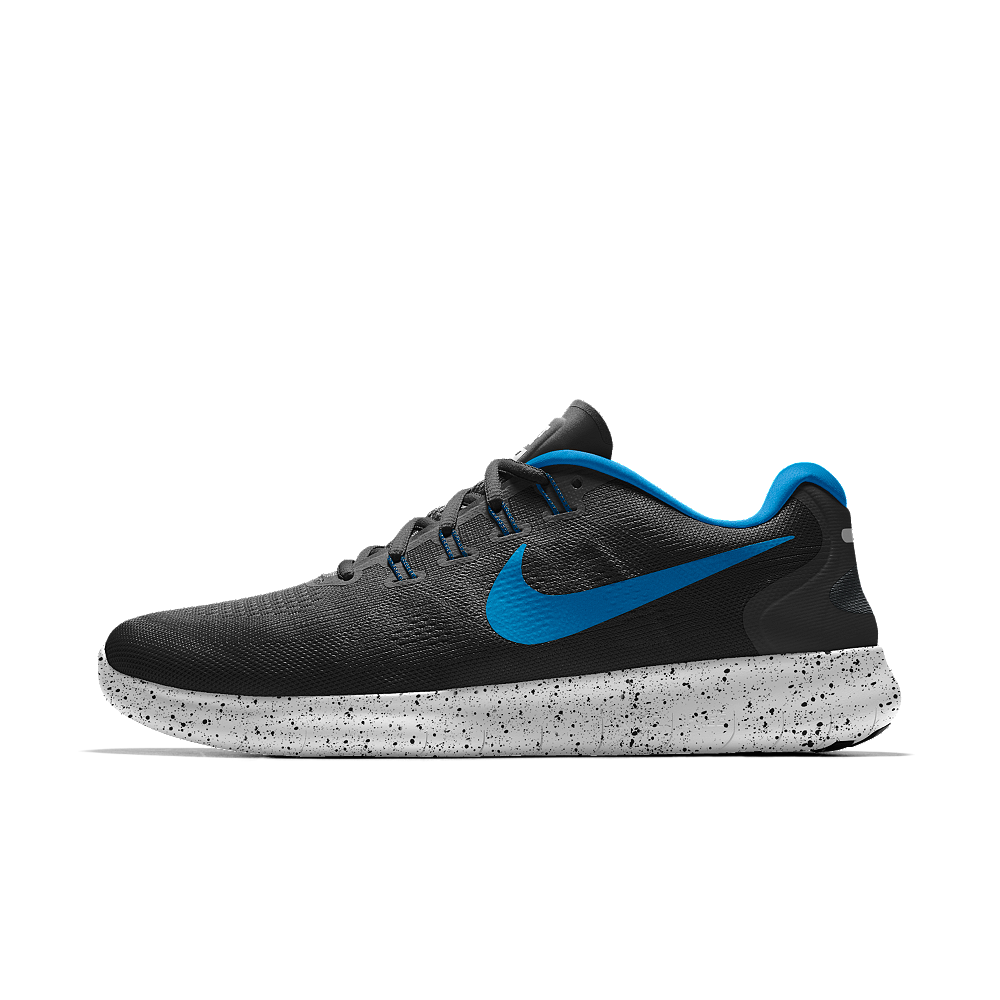 503dd355f0dfae Nike Free RN 2017 iD Men s Running Shoe Size 11.5 (Black)