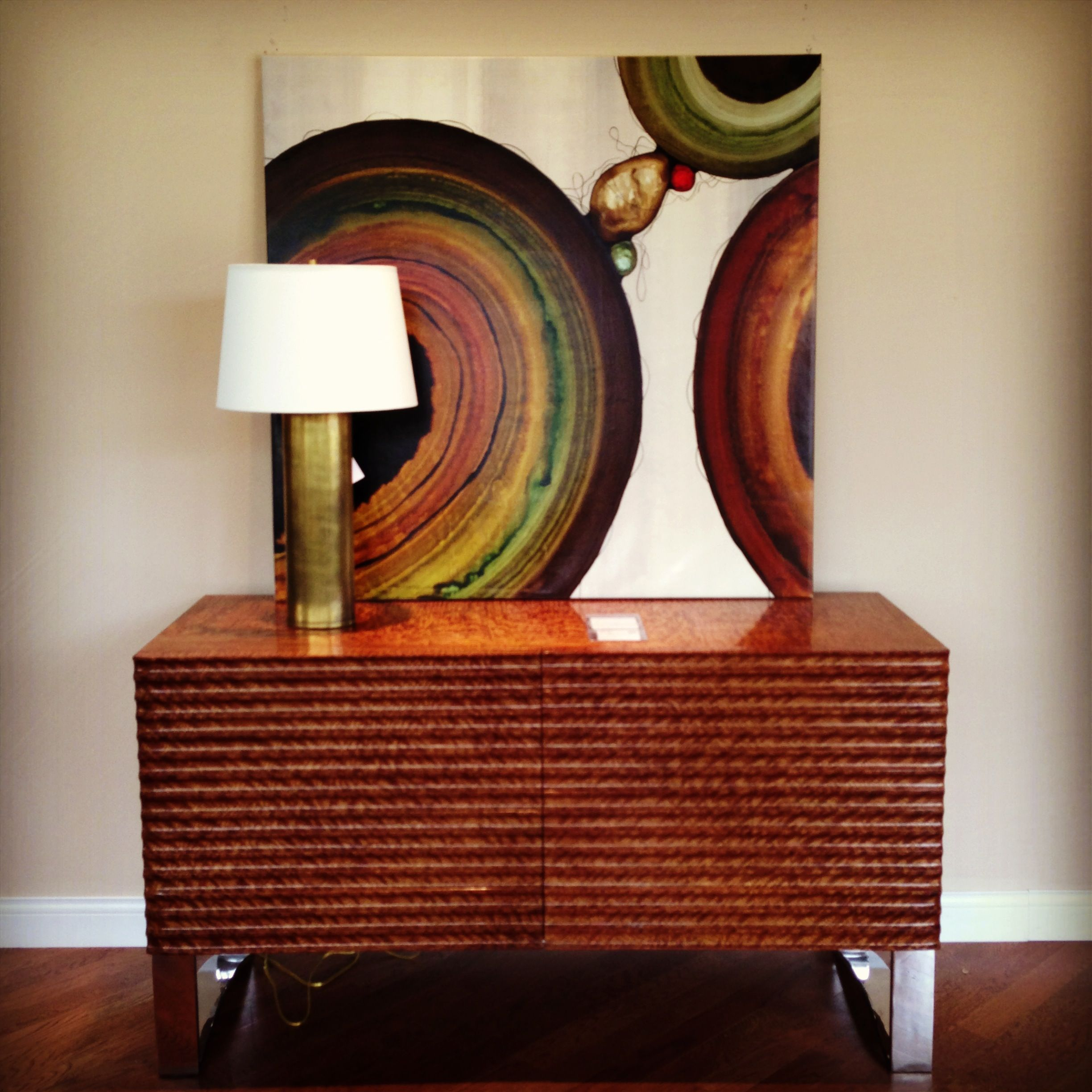 by alexander for showroom theodore artwork keno pin brothers furniture console