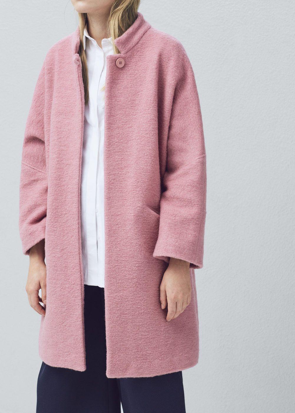 Manteau laine oversize - Femme   Outfits   Manteau, Manteau laine et ... bb8d4474bdc2