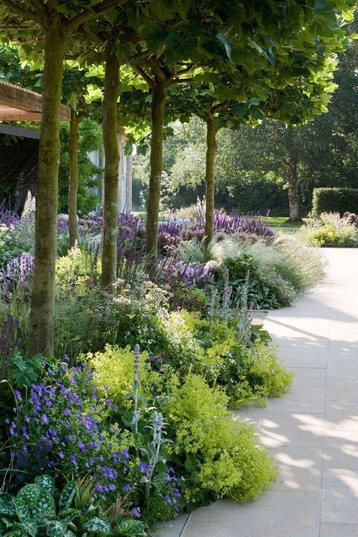 95 Beautiful Front Yard Cottage Garden Landscaping Ideas, #Beautiful #Cottage #Front #Garden...