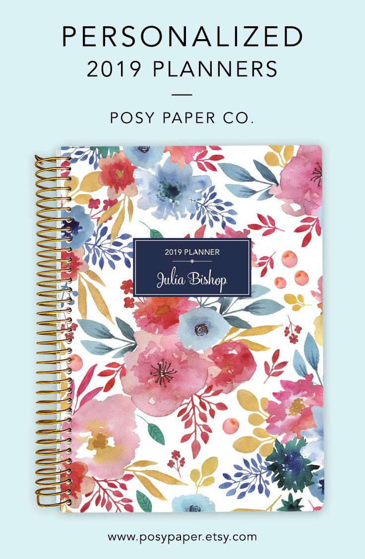 Our personalized weekly or monthly planners will keep you