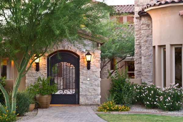 Tuscan Inspired Homes Yahoo Search Results Tuscan Style Homes Tuscan Architecture Tuscan House