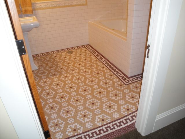 Mosaic Tile In The Hexagon Shape Hex Tile Can Make